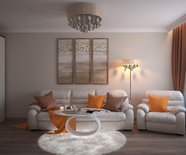 mur design salon