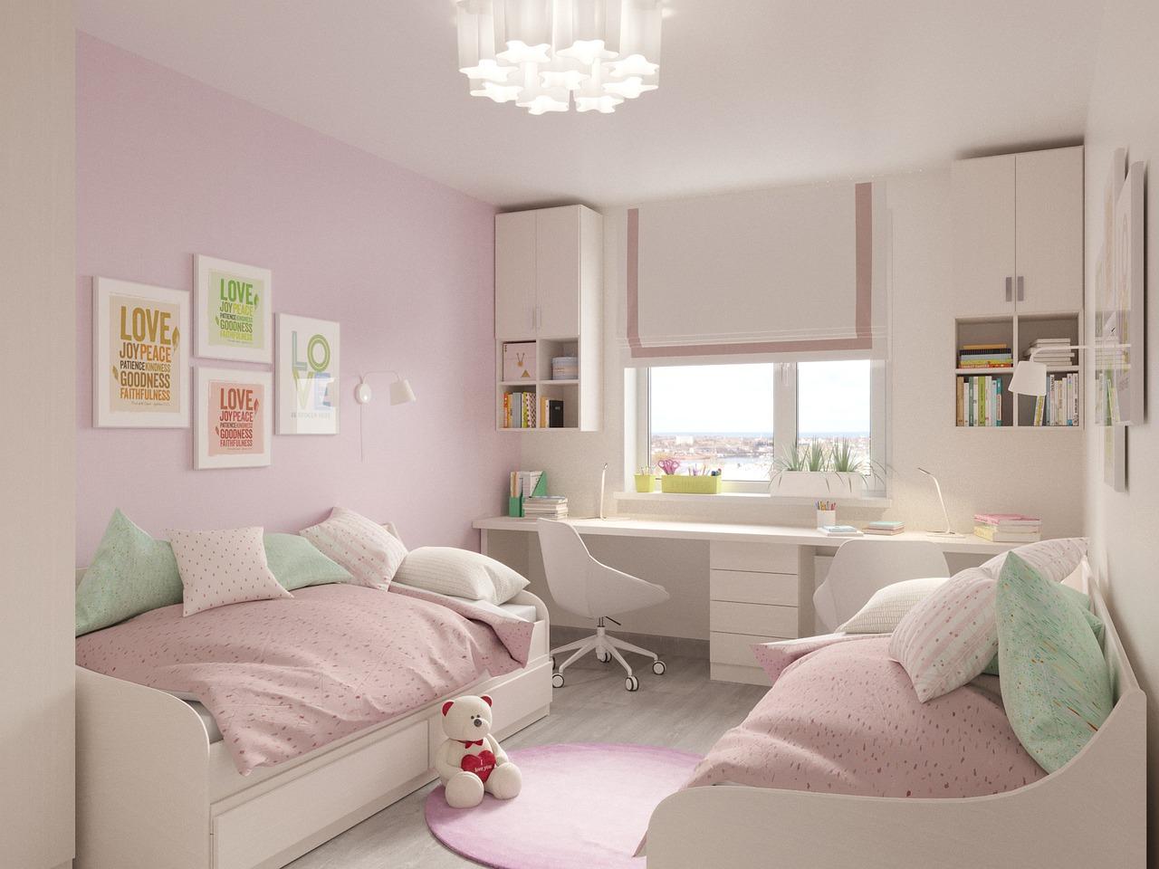 Comment d corer une chambre d 39 enfant partag e - Comment peindre une chambre d enfant ...
