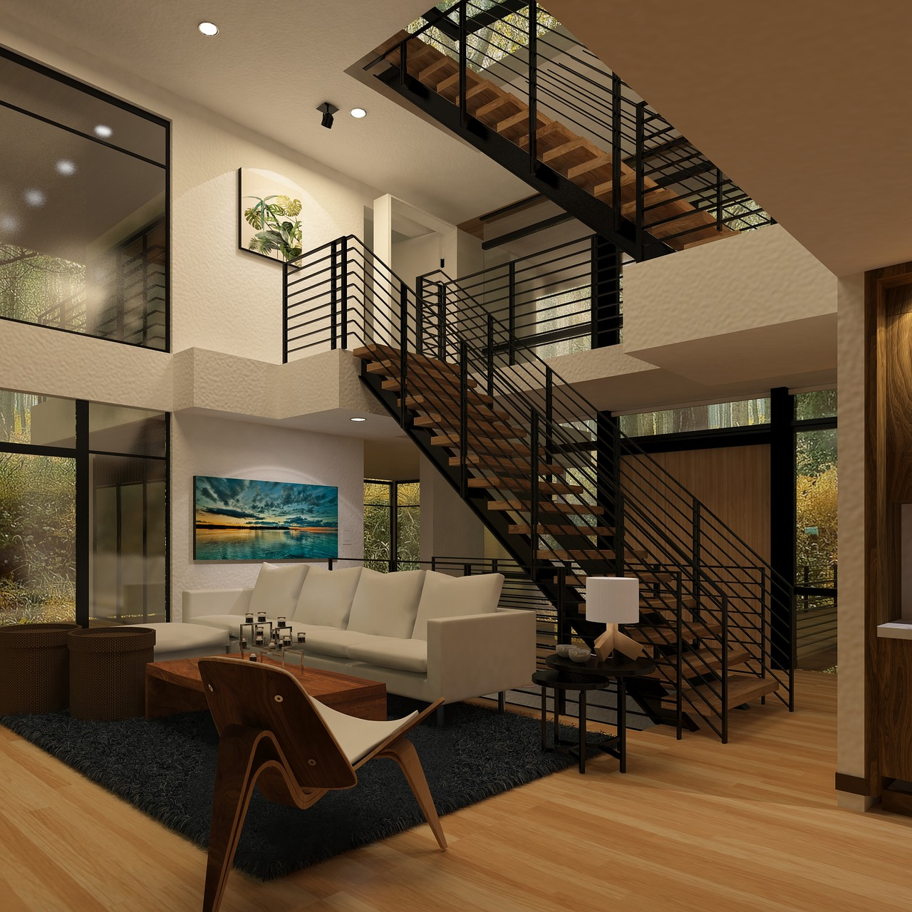 Escalier Dans Un Salon comment choisir ses escaliers ?